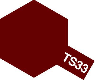 タミヤ TS-33 ダルレッド  85033