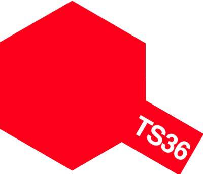 タミヤ TS-36 蛍光レッド  85036