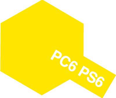 タミヤ PS-6 イエロー 86006