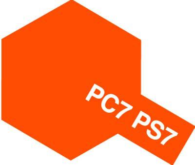 タミヤ PS-7 オレンジ 86007