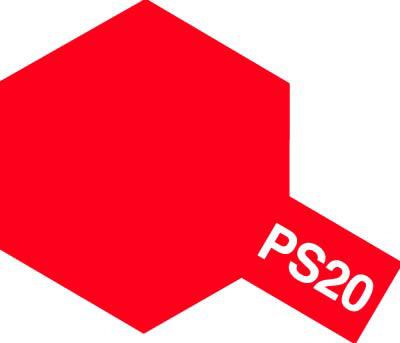 タミヤ PS-20 蛍光レッド 86020