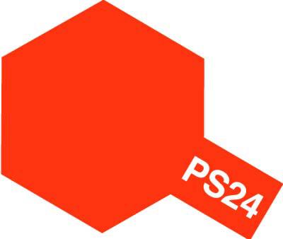 タミヤ PS-24 蛍光オレンジ 86024