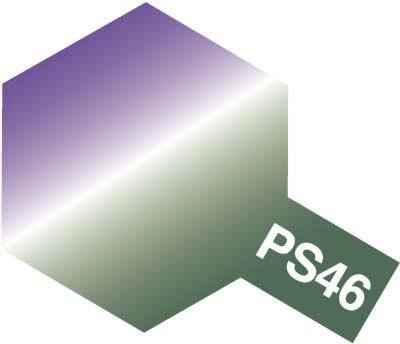 タミヤ PS-46 偏光パープル/グリーン 86046