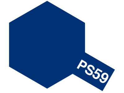 タミヤ PS-59 ダークメタリックブルー 86059