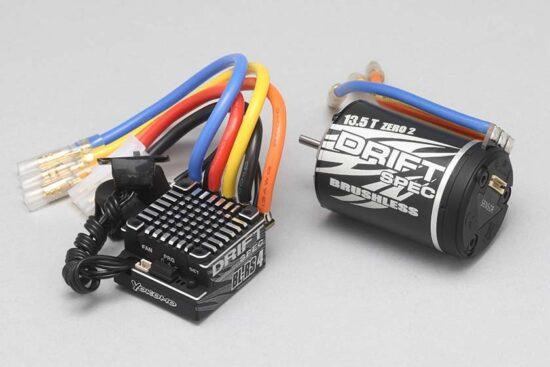 ヨコモ BL-RS4D/BL135D ドリフトスペック ブラシレスコンボ BL-R4135D