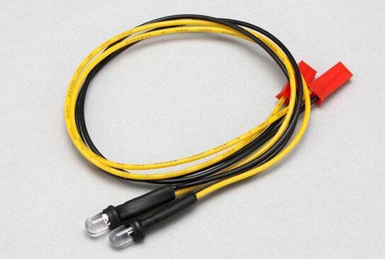 ヨコモ 増灯用 LEDライトセット(オレンジ色 2灯入) d-068