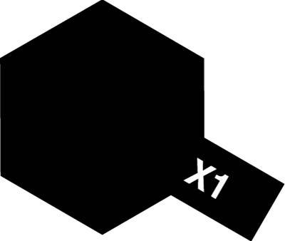 タミヤ タミヤカラーアクリルミニ X-1 ブラック 81501