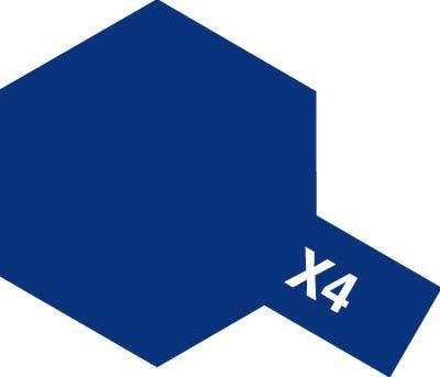タミヤ タミヤカラーアクリルミニ X-4 ブルー 81504