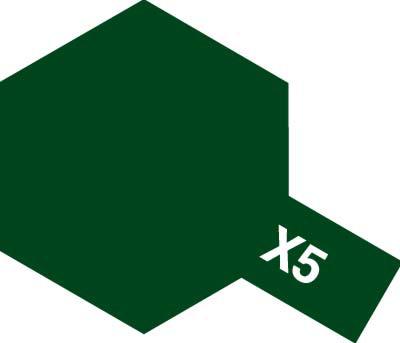 タミヤ タミヤカラーアクリルミニ X-5 グリーン 81505