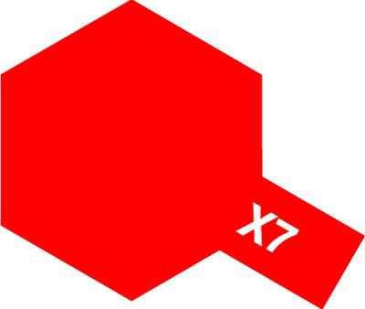タミヤ タミヤカラーアクリルミニ X-7 レッド 81507