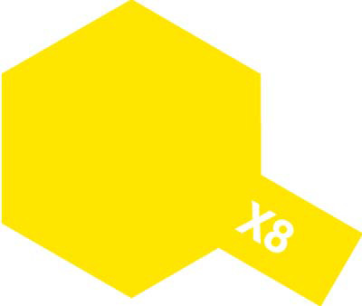 タミヤ タミヤカラーアクリルミニ X-8 レモンイエロー 81508