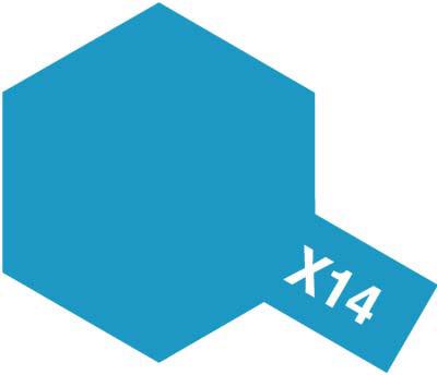 タミヤ タミヤカラーアクリルミニ X-14 スカイブルー 81514