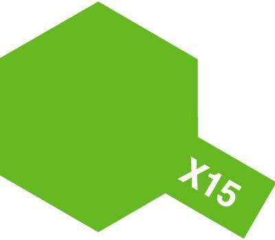 タミヤ タミヤカラーアクリルミニ X-15 ライトグリーン 81515