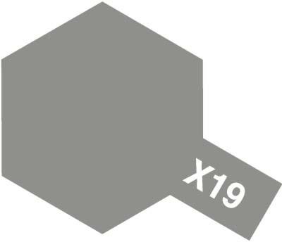 タミヤ タミヤカラーアクリルミニ X-19 スモーク 81519