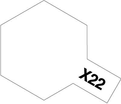 タミヤ タミヤカラーアクリルミニ X-22 クリヤー 00X22