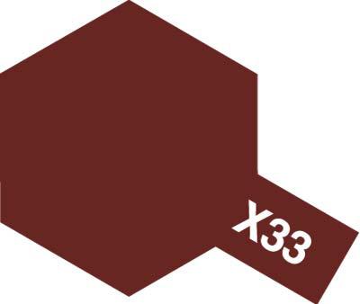 タミヤ タミヤカラーアクリルミニ  X-33 ブロンズ 81533