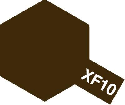 タミヤ タミヤカラーアクリルミニ  XF-10 フラットブラウン 81710