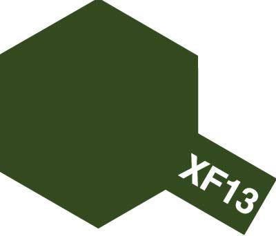 タミヤ タミヤカラーアクリルミニ  XF-13 濃緑色 81713