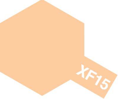 タミヤ タミヤカラーアクリルミニ  XF-15 フラットフレッシュ 81715