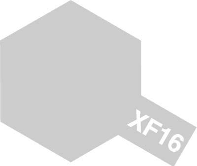 タミヤ タミヤカラーアクリルミニ  XF-16 フラットアルミ 81716