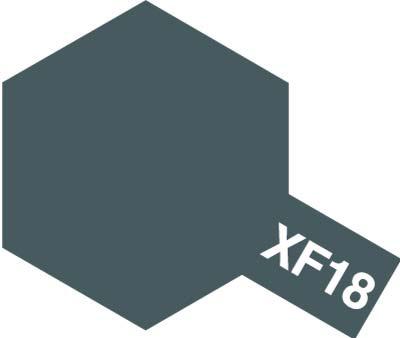タミヤ タミヤカラーアクリルミニ  XF-18 ミディアムブルー 81718