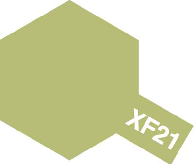 タミヤ タミヤカラーアクリルミニ  XF-21 スカイ 81721