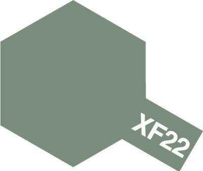 タミヤ タミヤカラーアクリルミニ  XF-22 RLM グレイ 81722