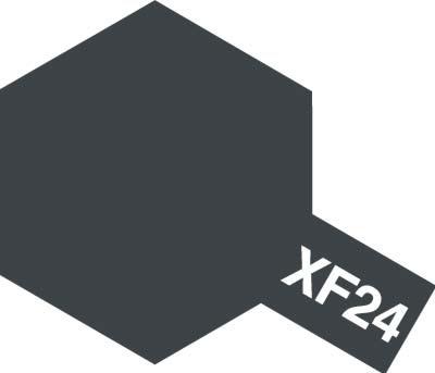 タミヤ タミヤカラーアクリルミニ  XF-24 ダークグレイ 81724