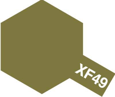 タミヤ タミヤカラーアクリルミニ XF-49 カーキ 81749