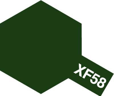 タミヤ タミヤカラーアクリルミニ XF-58 オリーブグリーン 81758