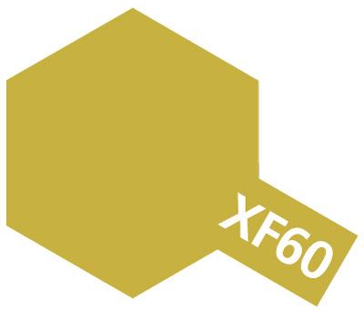 タミヤ タミヤカラーアクリルミニ  XF-60 ダークイエロー 81760