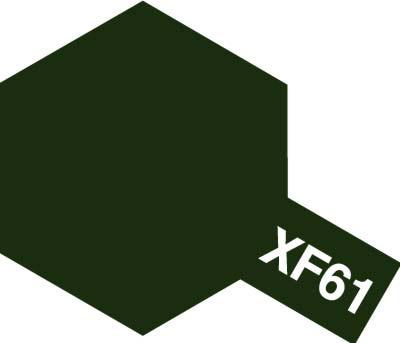 タミヤ タミヤカラーアクリルミニ  XF-61 ダークグリーン 81761