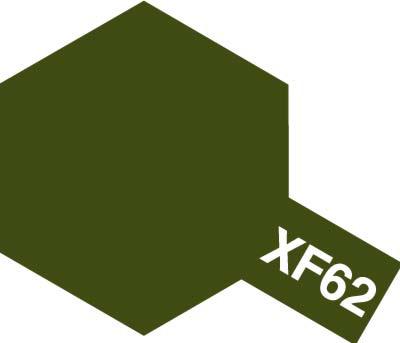 タミヤ タミヤカラーアクリルミニ  XF-62 オリーブドラブ 81762