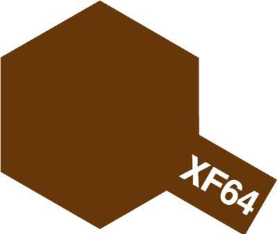 タミヤ タミヤカラーアクリルミニ  XF-64 レッドブラウン 81764