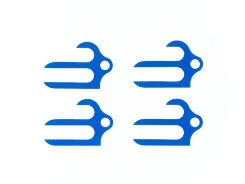 タミヤ OP.1617 リジッドセパレートサスマウント用スペーサー(0.5mm×4)  54617