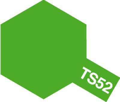 タミヤ TS-52 キャンディーライムグリーン  85052