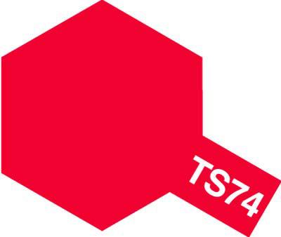 タミヤ TS-74 クリヤーレッド  85074
