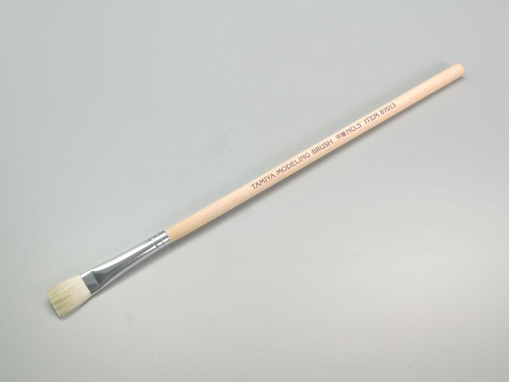 タミヤ 平筆 NO.5  87013