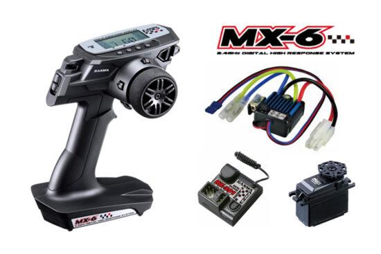 サンワ MX-6  RX-391(FH-E) ESC/BL-SIGMA SRM-102Z 101A32512A