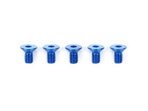 タミヤ OP.771 3×6mm六角皿ビス ブルー(5本)  53771