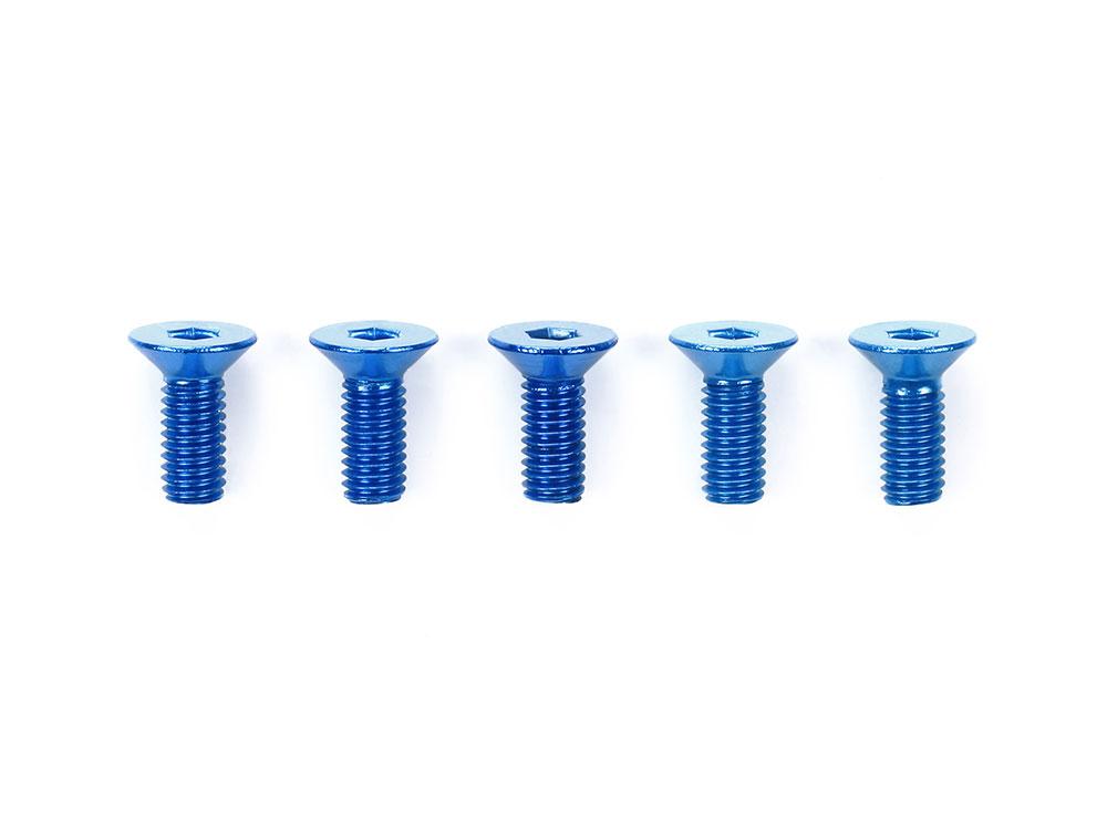 タミヤ OP.772 3×8mm六角皿ビス ブルー(5本) 53772