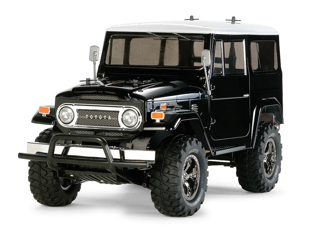 タミヤ 1/10RC トヨタ ランドクルーザー 40 ブラックスペシャル 塗装済みボディ(CC-01) 58564