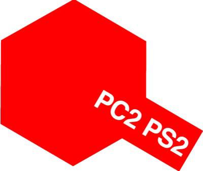 タミヤ PS-2 レッド 86002