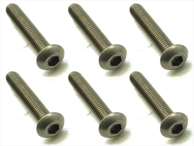 スクエア チタンヘックスナベビス 6本入 3×18 Titanium hex Pan Head Screw 3×18 (6 pcs.) NTR-318