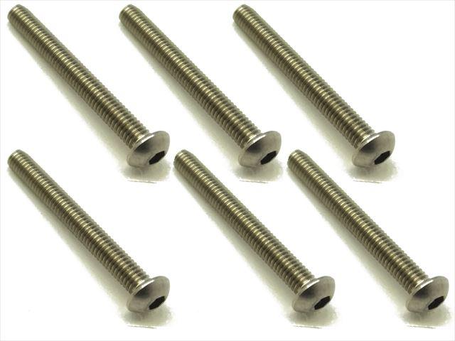 スクエア チタンヘックスナベビス 6本入 3×25 Titanium hex Pan Head Screw 3×25 (6 pcs.) NTR-325