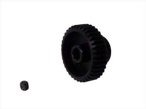 スクエア 64P ハードスチールピニオンギア 35T 64P hard steel pinion gear 35T SGE-635
