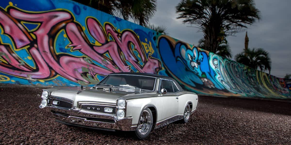 京商 1/10 EP 4WD フェーザーMk2 FZ02L レディセット 1967 ポンティアック GTO™ シャンパン メタリック 34431T1