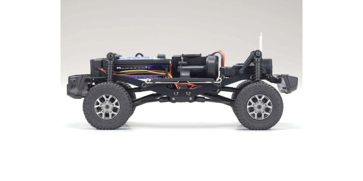 京商 ラジオコントロール 電動 クローリングカー ミニッツ4×4シリーズ レディセット スズキ ジムニーシエラ  ミディアムグレー 32523G