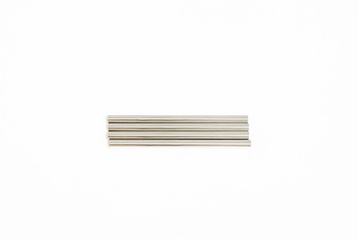 タミヤ 3x48.5mm ステンレスサスシャフト(4本) カスタマーサービスパーツ 19805681-000