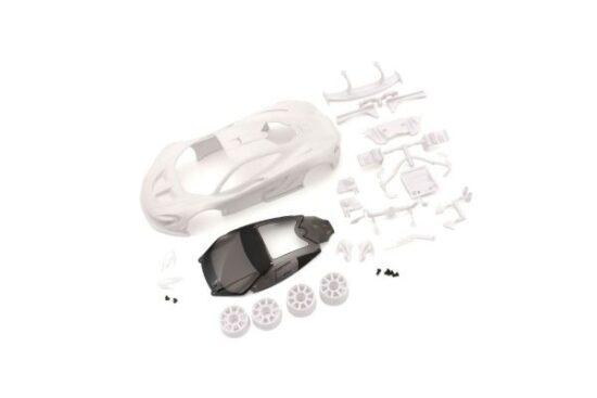 京商 マクラーレン P1 GTR ホワイトボディセット(未塗装/ホイール付) MZN190